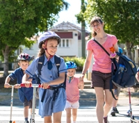 Active School Travel- Park and Stride Easter hat parade Wednesday 23 March